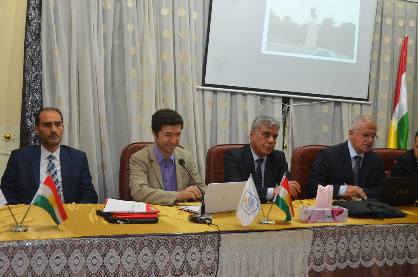Soran University Participates in the Creation of the Kurdish Atlas Project
