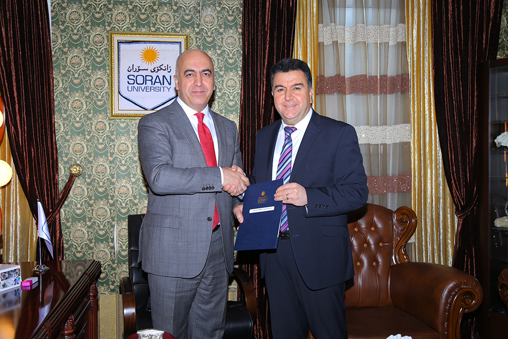 Soran University Honors Mr Krmanj Izzet