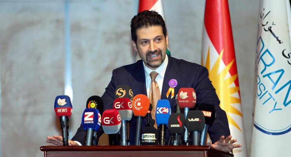 Qubad Talabani: 'It is Clear That Soran University is One of the Best Universities in Kurdistan Region'