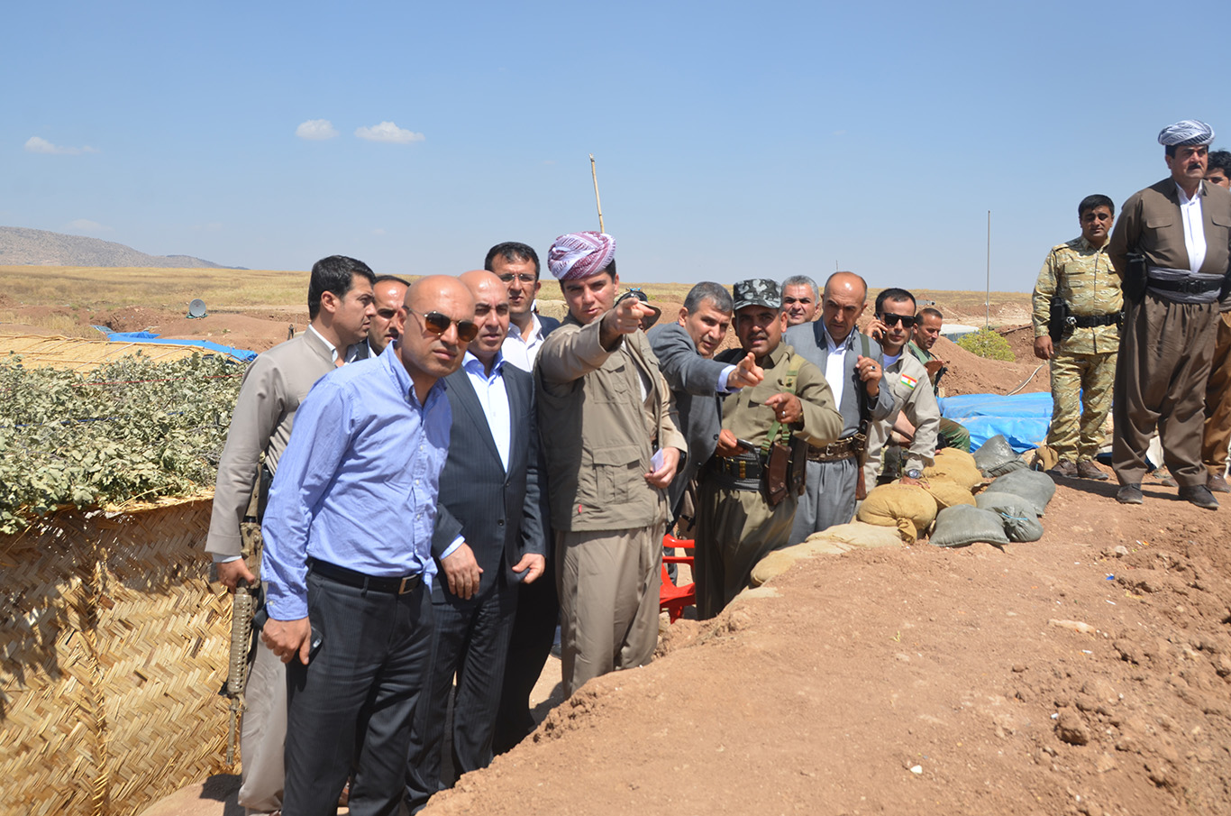 Soran University Visits Peshmerga Forces