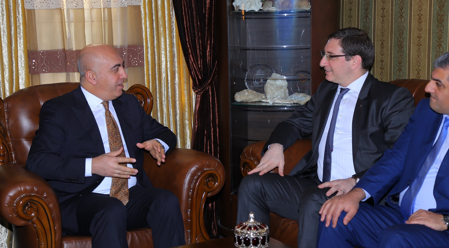 The Turkish General Consul to the Kurdistan Region Visits Soran University