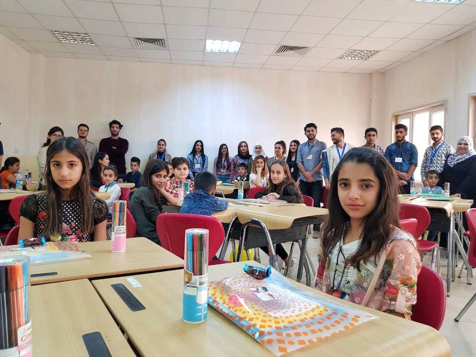 Soran University Students – showing a Wish for All