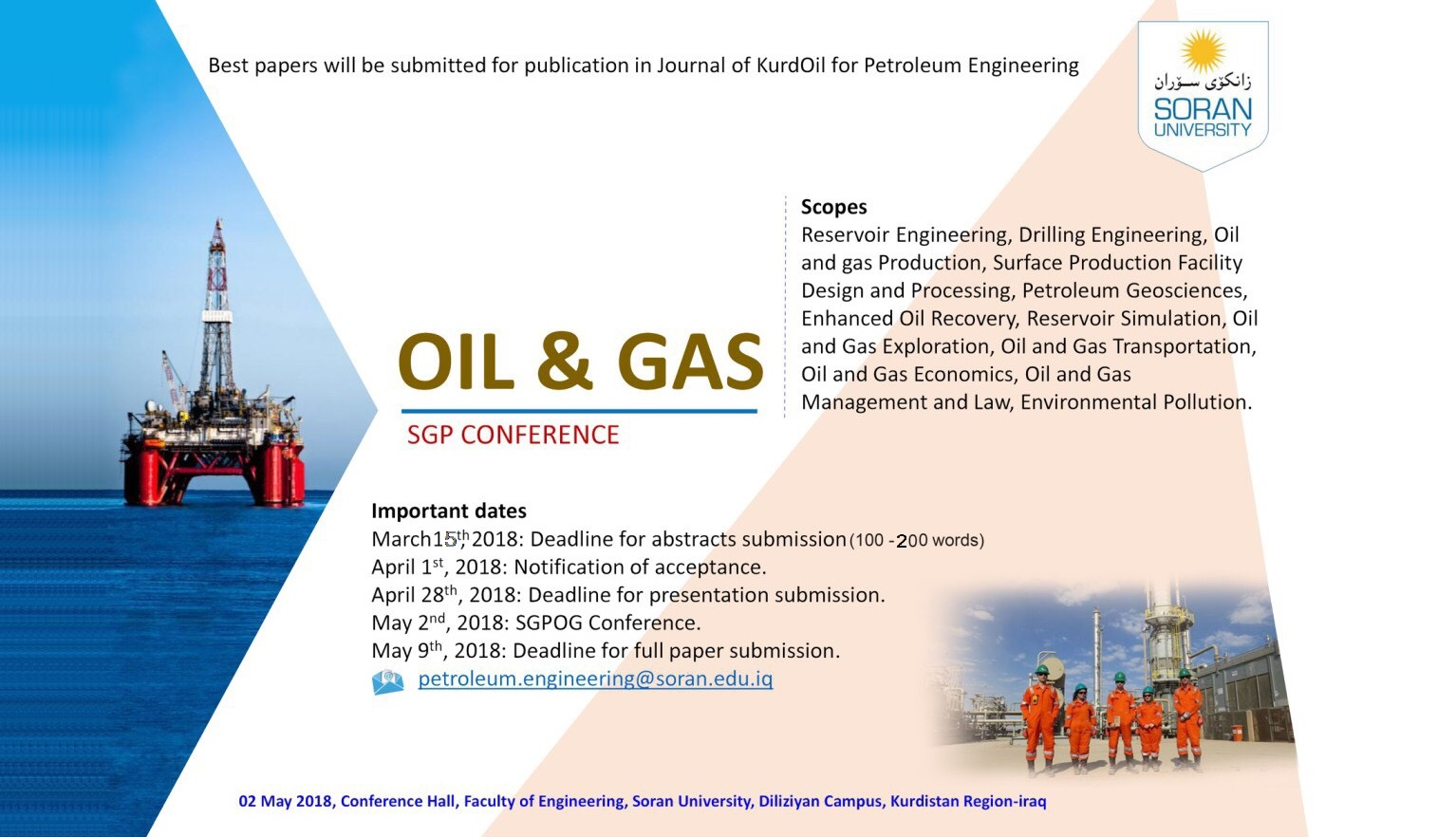 Oil & Gas National Conference