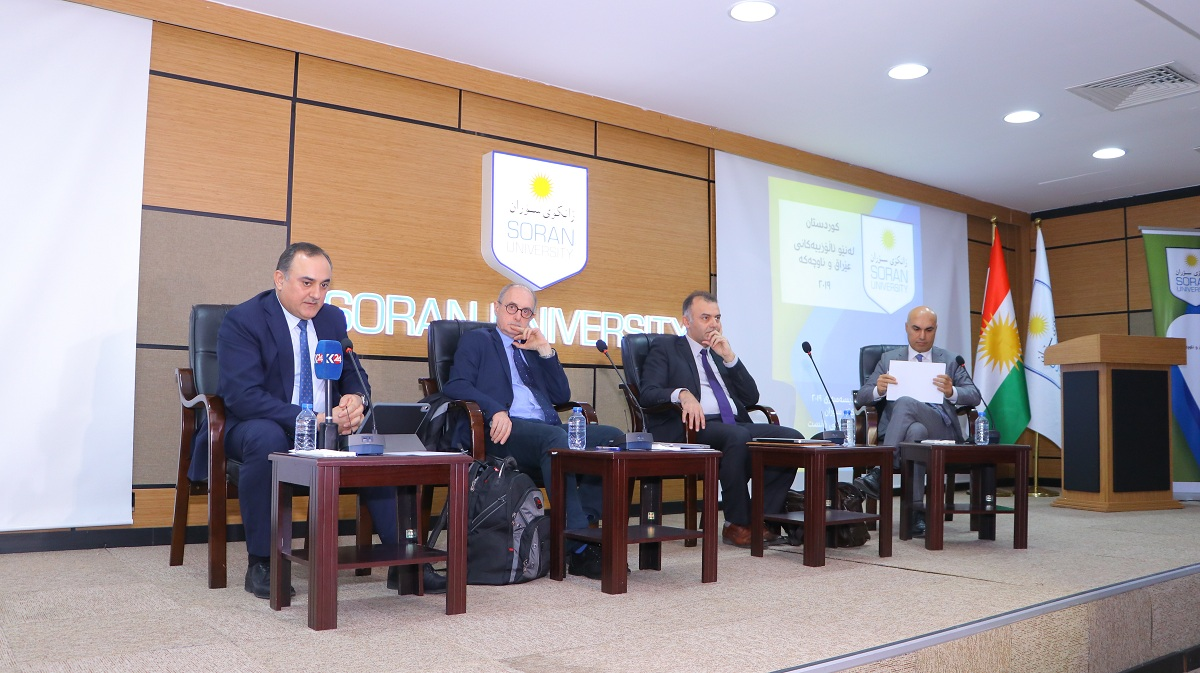 A summit entitled Kurdistan amongst the conflict in Iraq and the area was held
