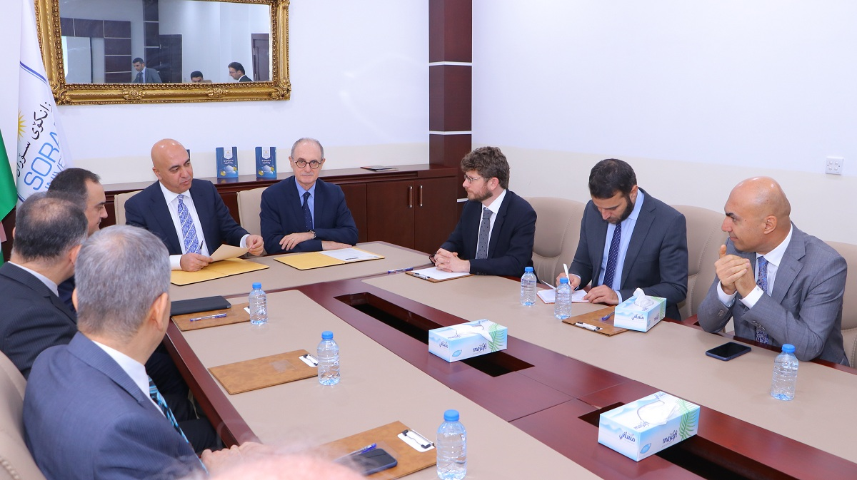 Soran University and the Grenoble Institute of Political Science signed an academic agreement